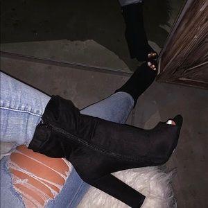 Tiffany bootie in black